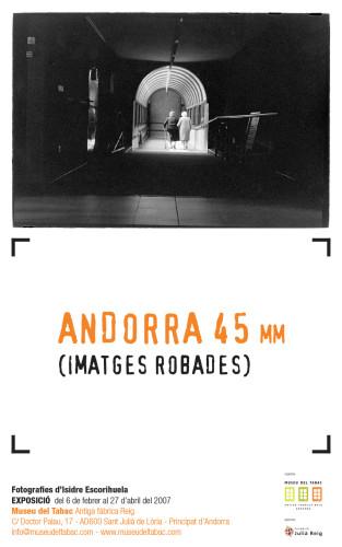 Andorra, 45 mm. Stolen images