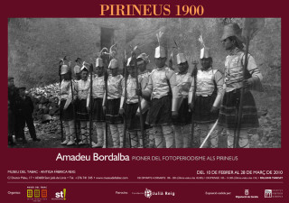 PYRENEES 1900. Amadeu Bordalba, pioneer of photojournalism in the Pyrenees