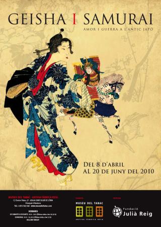 GEISHA & SAMURAI. Love and War in 19th century Japan