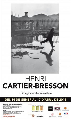 Cartell HENRI CARTIER-BRESSON